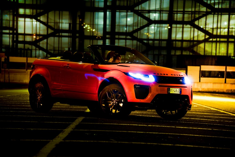 ORANGE @RANGE ROVER EVOQUE CONVERTIBLE ©lucaromanopix
