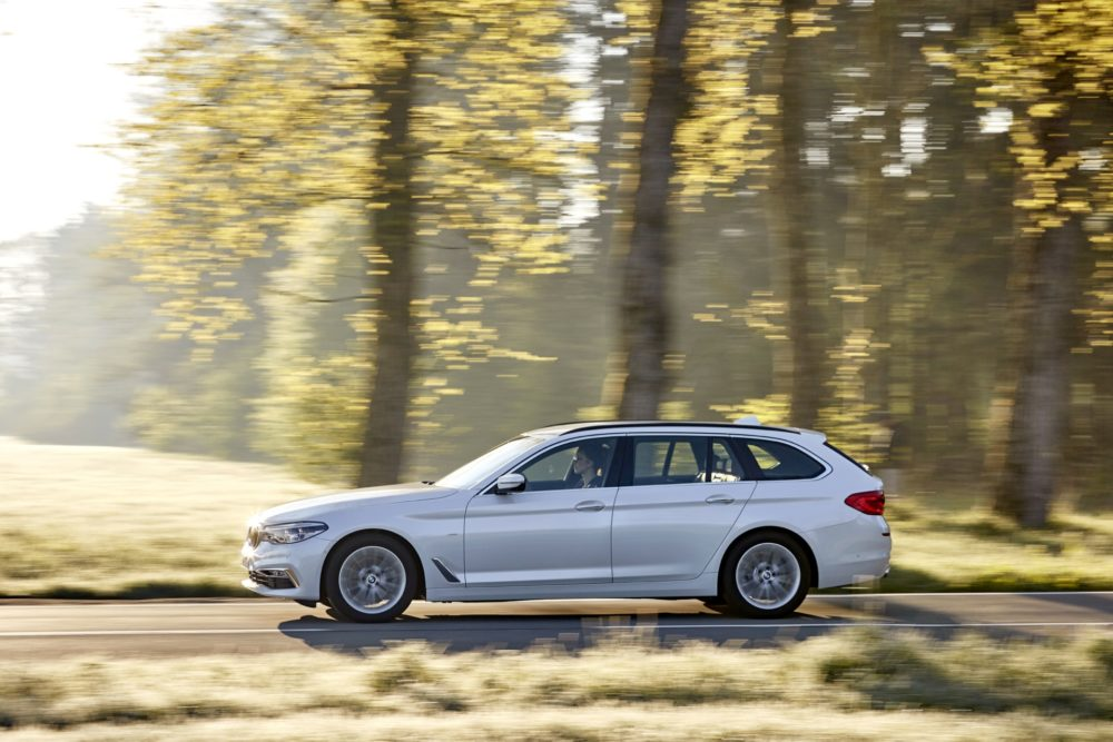 BMW SERIE 5 TOURING - IN TV 10 GIUGNO