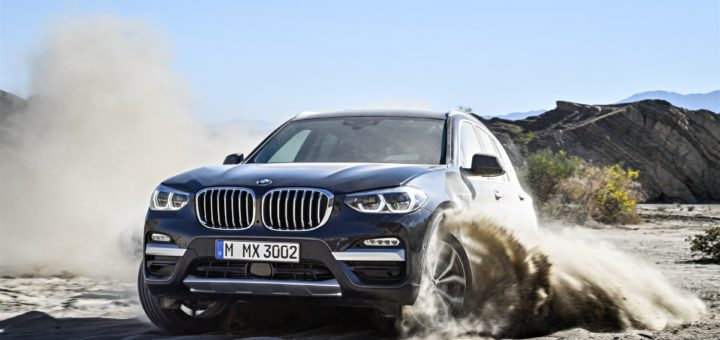 NUOVA BMW X3 - IN TV 8/7